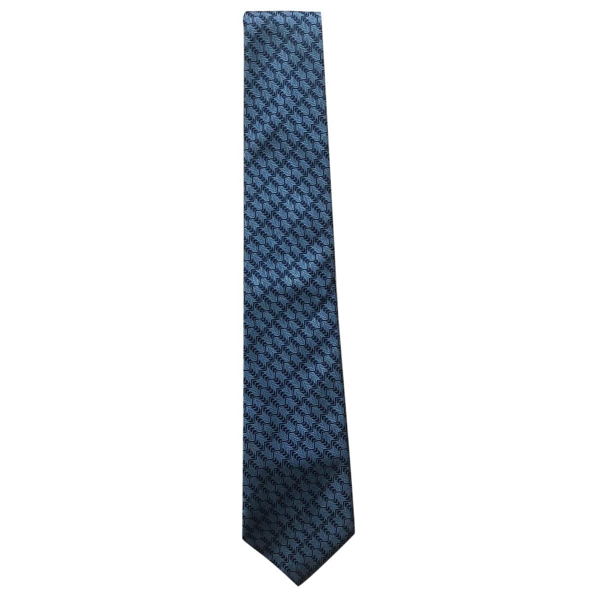 Turnbull & Asser \N Blue Silk Ties for Men \N
