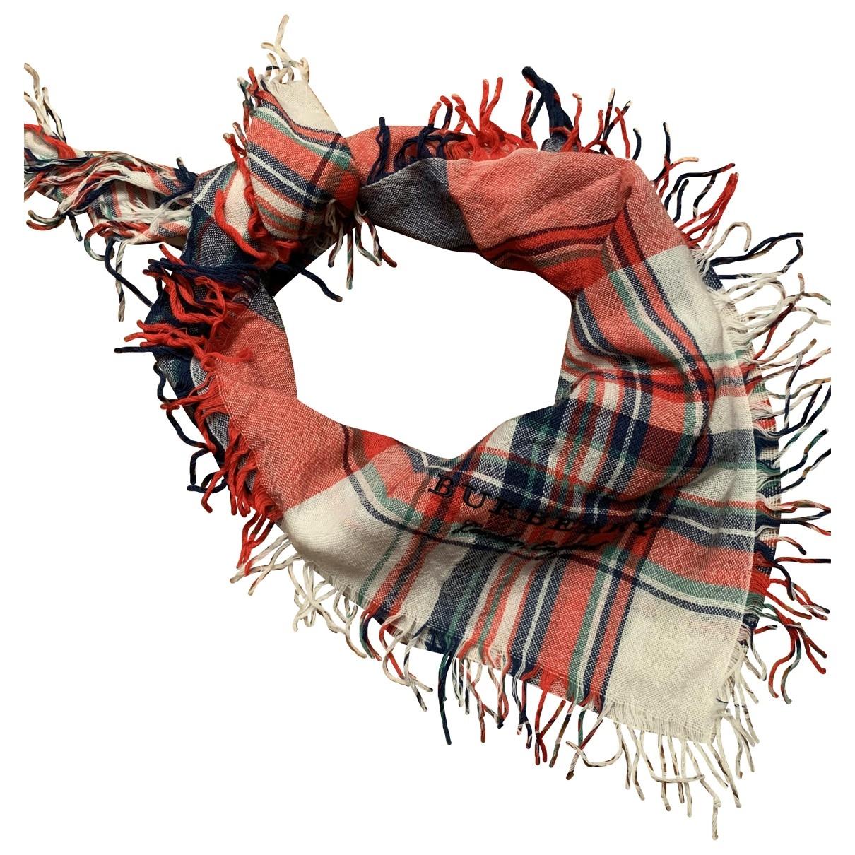 Burberry \N Multicolour Wool scarf for Women \N
