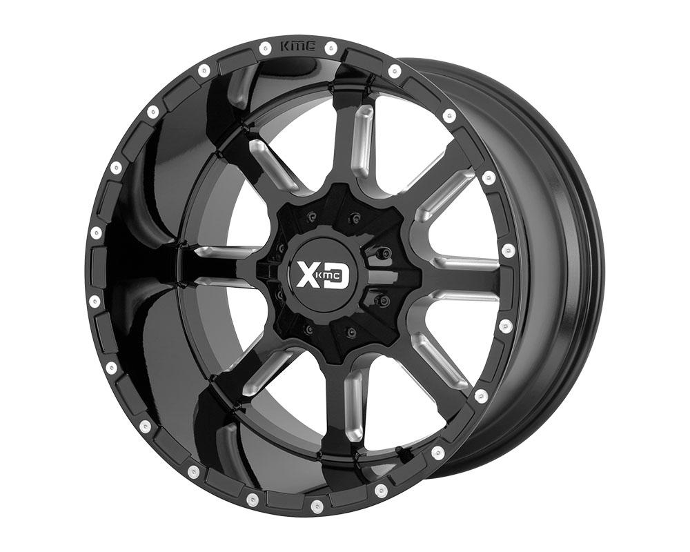 XD Series XD83822067318N XD838 Mammoth Wheel 22x10 6x6x135/6x139.7 -18mm Gloss Black Milled