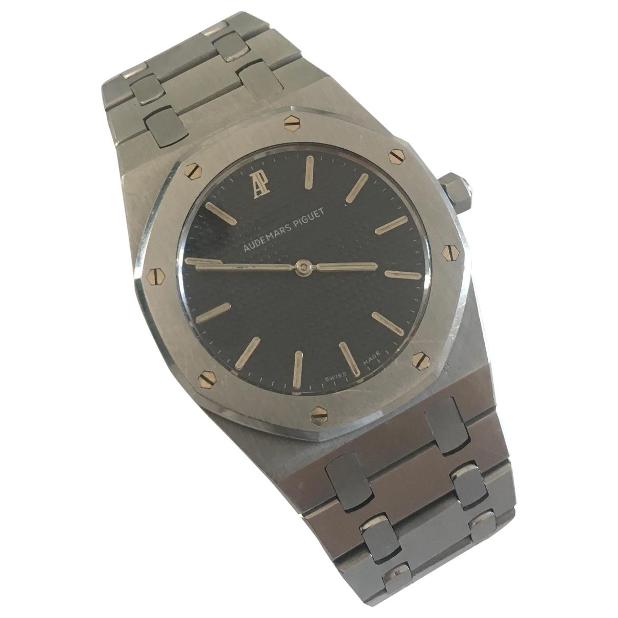 Audemars Piguet Royal Oak  Silver Steel watch for Men \N