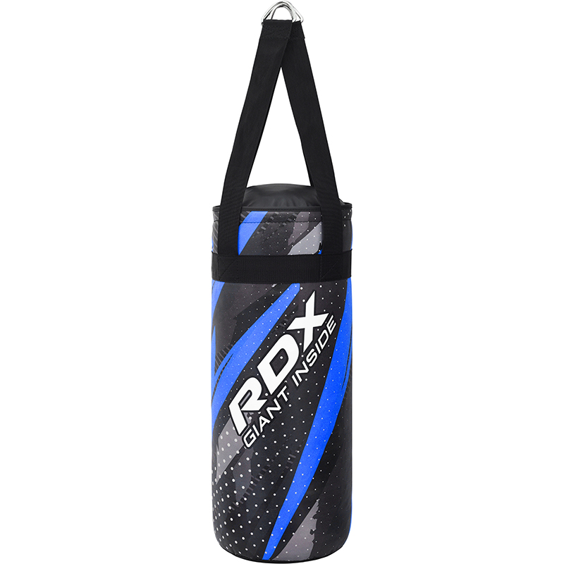 RDX J11 2ft Kids Boxing and MMA Training Punch Bag Blue Unfilled