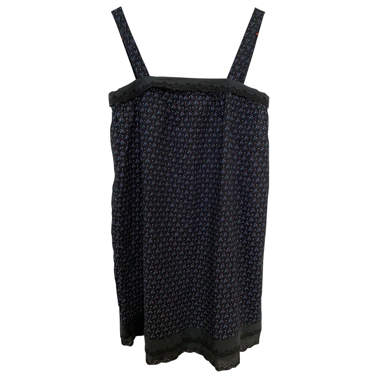 Soeur \N Black Cotton dress for Kids 16 years - M FR