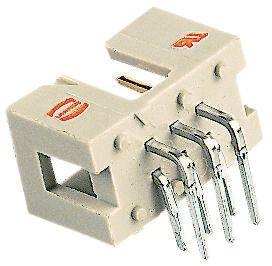 HARTING , SEK 18, 6 Way, 2 Row, Right Angle PCB Header