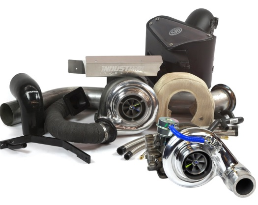Industrial Injection 227404 Compound Kit w/ Silver Bullet and BW S480 - Spec Year and Trans Dodge 2003-2007.5