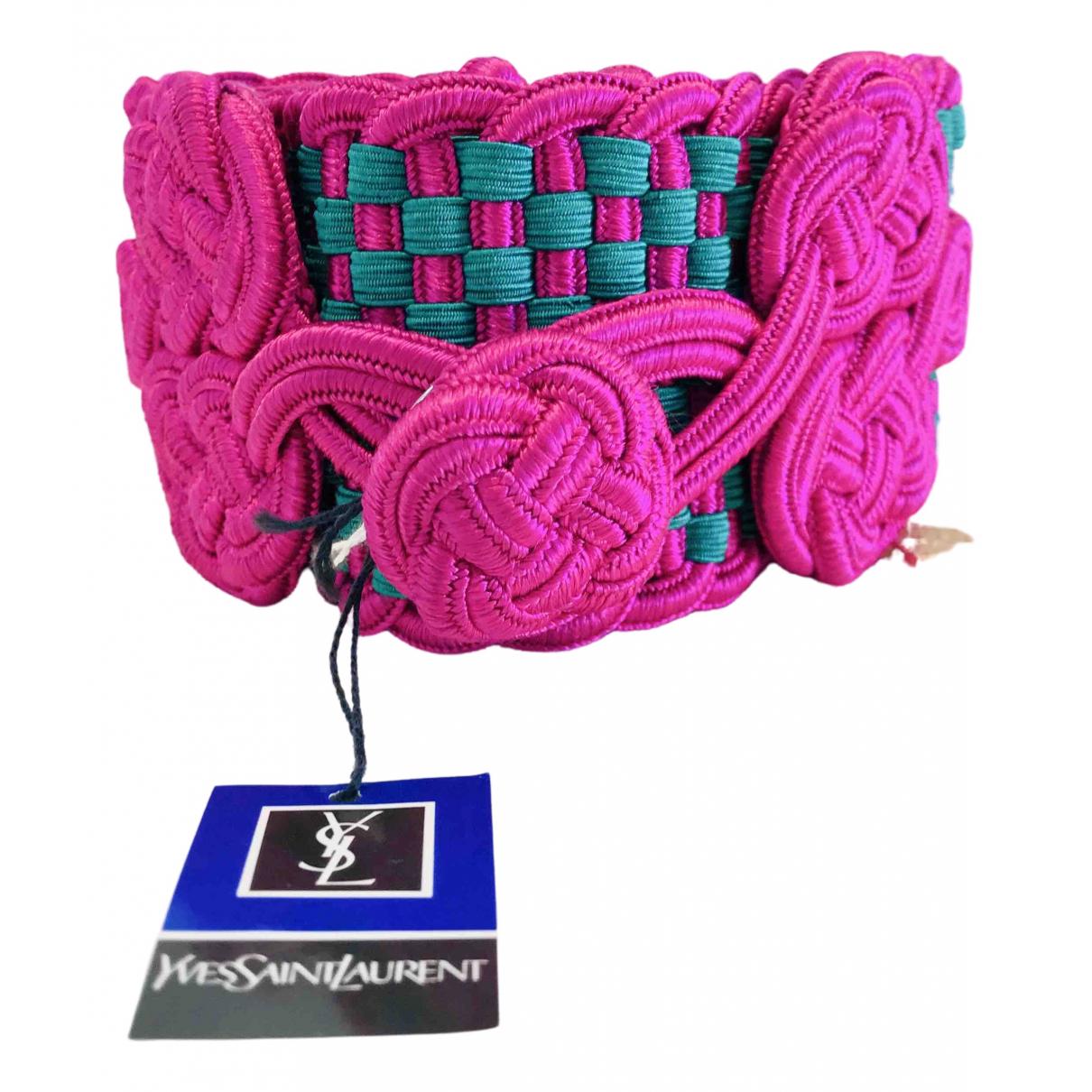 Yves Saint Laurent \N Multicolour belt for Women 85 cm