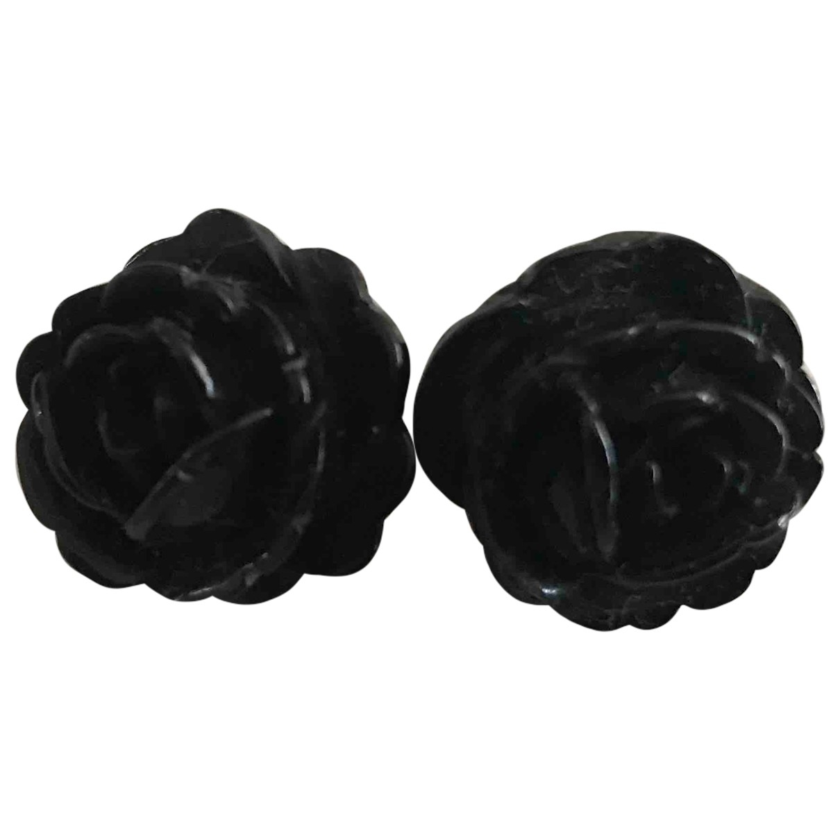 Uterque \N Black Ceramic Earrings for Women \N