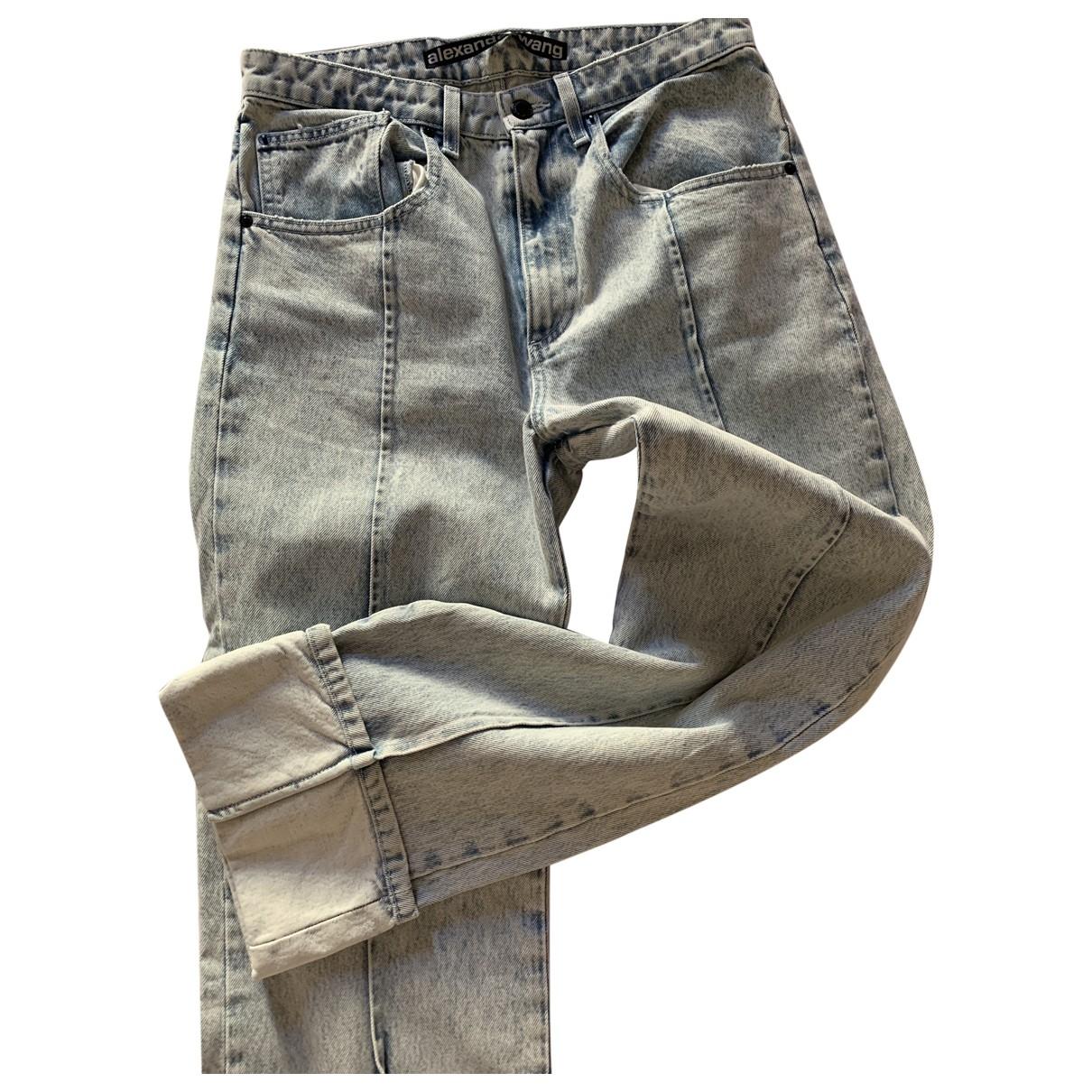 Alexander Wang \N Blue Cotton Jeans for Women 29 US