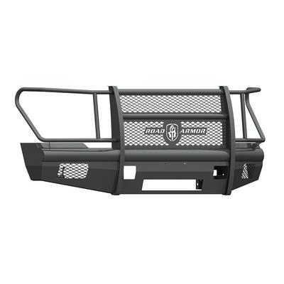 Road Armor Vaquero Front Non-Winch Bumper with Full Guard (Texture Black) - 611VF6B