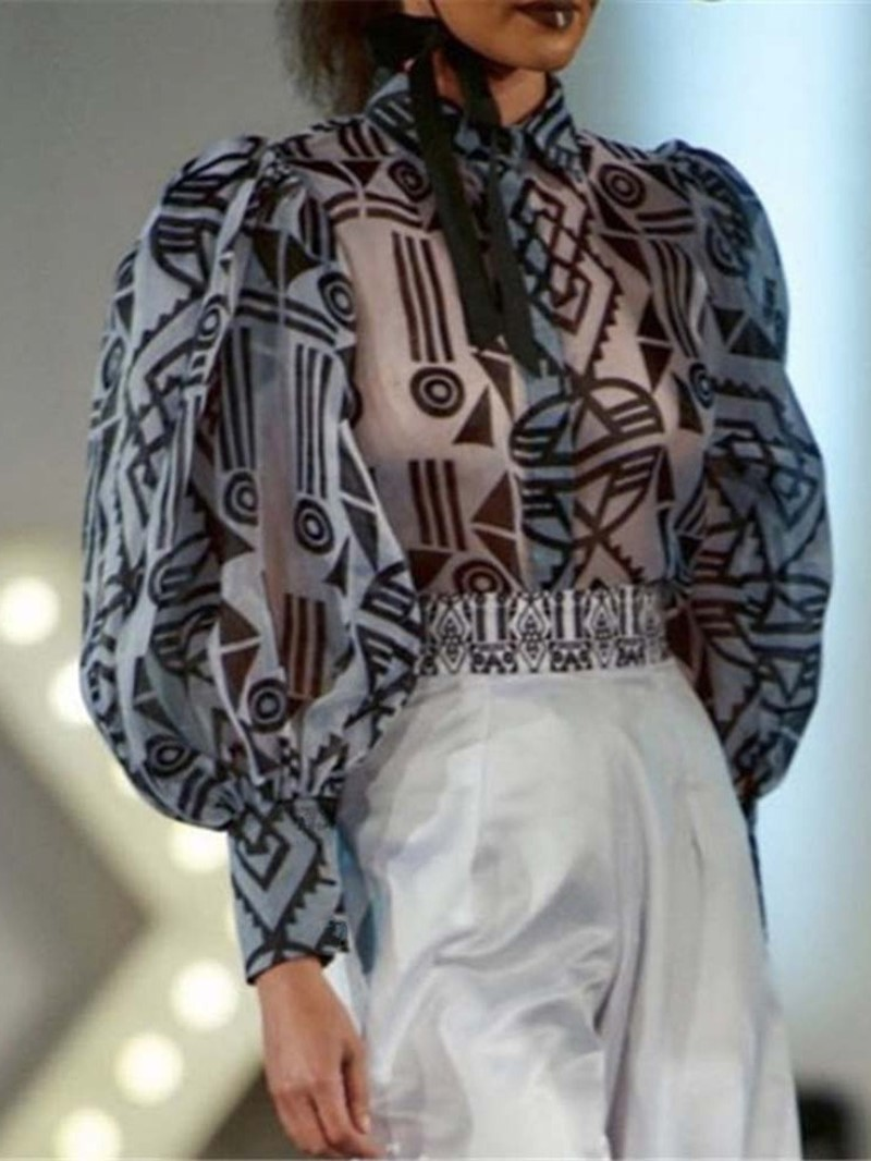 Ericdress Standard Long Sleeve Slim Women's Blouse
