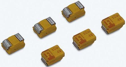 AVX Tantalum Capacitor 4.7μF 35V dc MnO2 Solid ±10% Tolerance , TAJ (5)