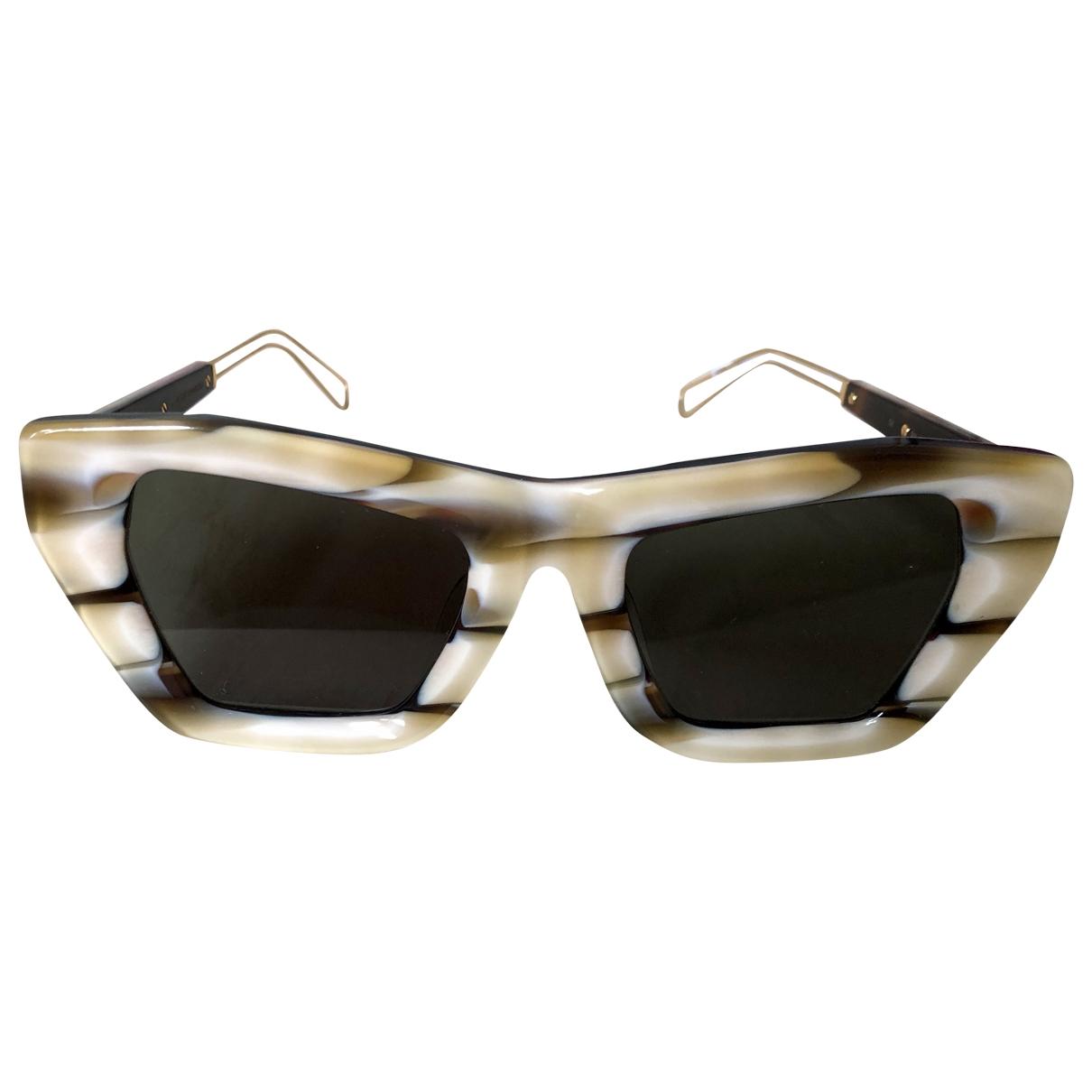 Rejina Pyo \N Beige Sunglasses for Women \N