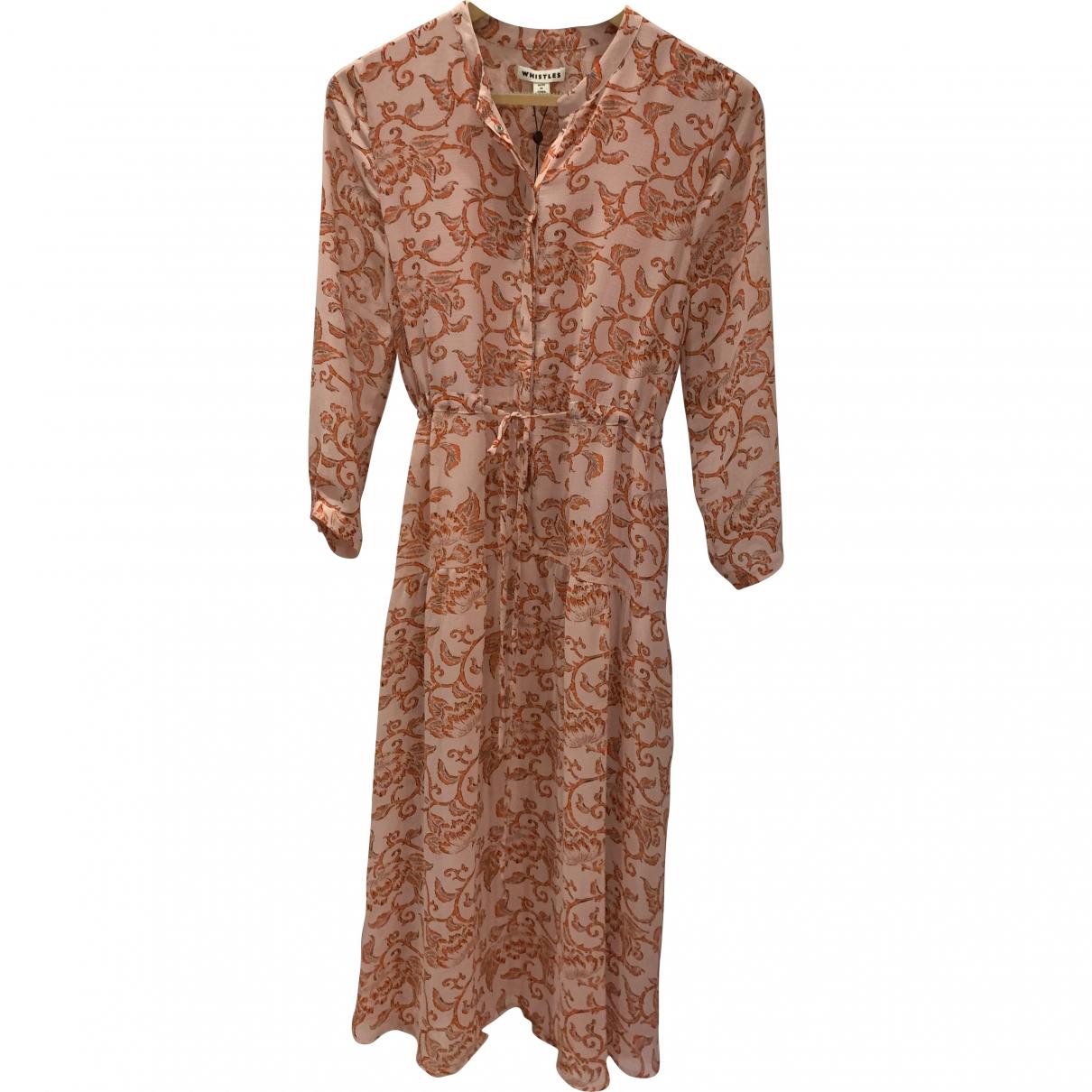 Whistles \N Pink dress for Women 38 FR