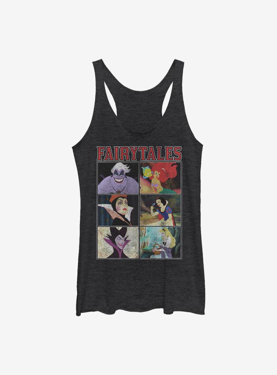 Disney Princesses Fairytales Womens Tank Top