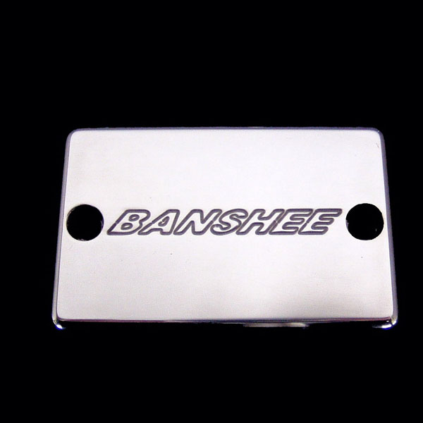 ModQuad BC1-B Brake Cover Banshee Logo Polished