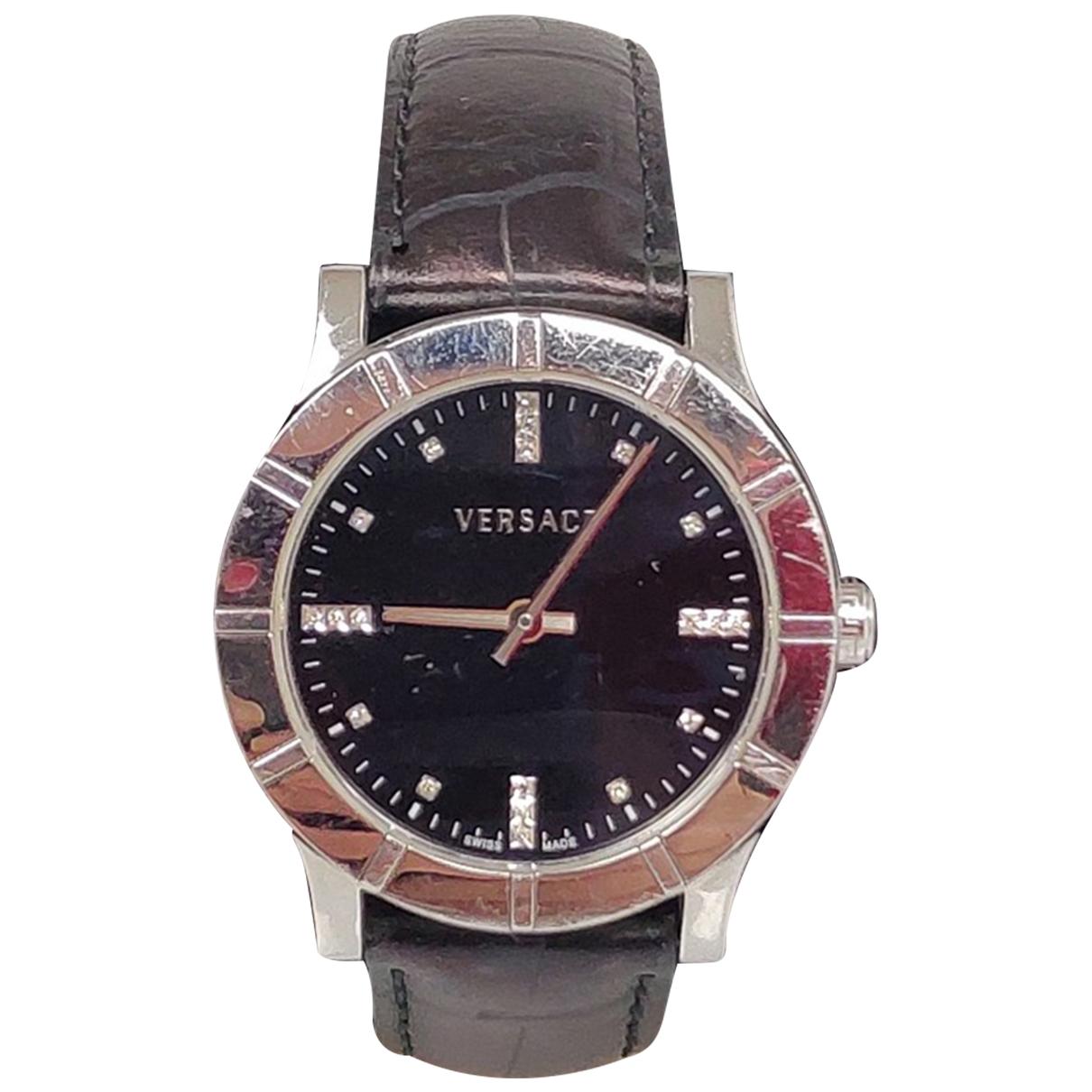 Versace \N Brown Steel watch for Women \N