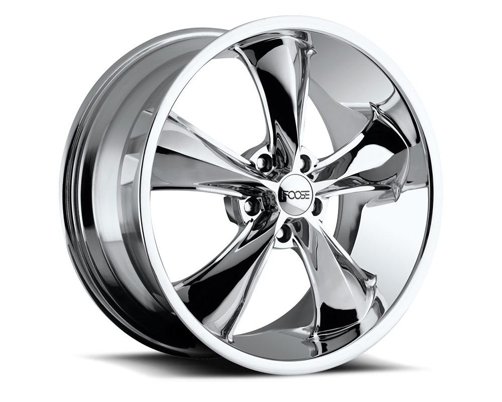 Foose F105 Legend Chrome 1-Piece Cast Wheel 20x10 5x120.7 01mm