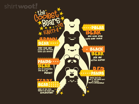 The Coolest Bears T Shirt
