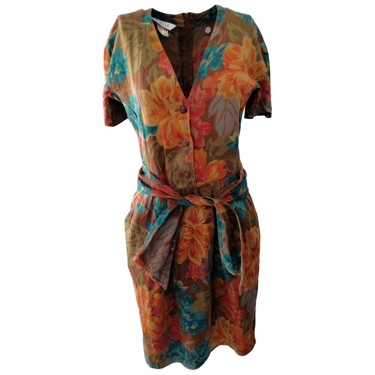 Marella \N Multicolour Cotton dress for Women 42 IT