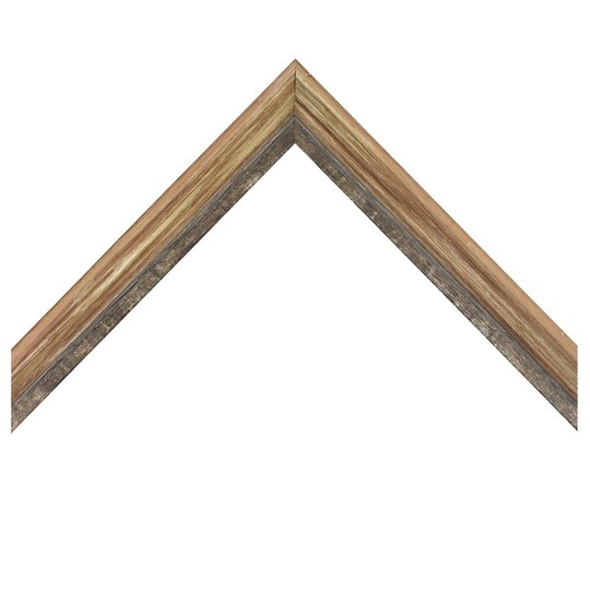 Deep Bevel Barnwood Green With Pewter Lip Custom Frame By Michaels® | 8 X 10 | Wood