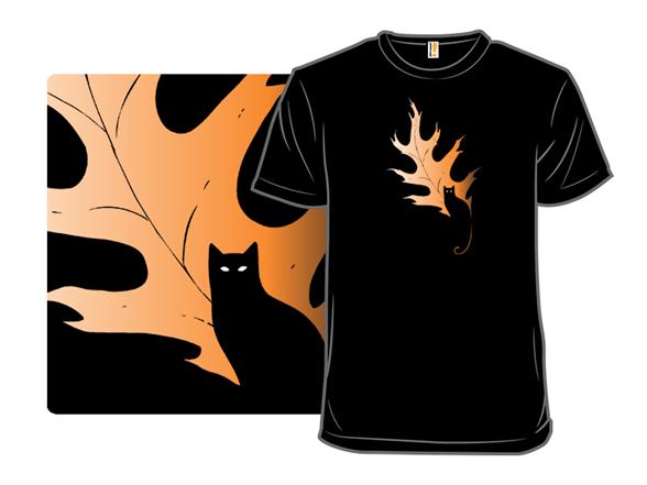 Fall Feline T Shirt