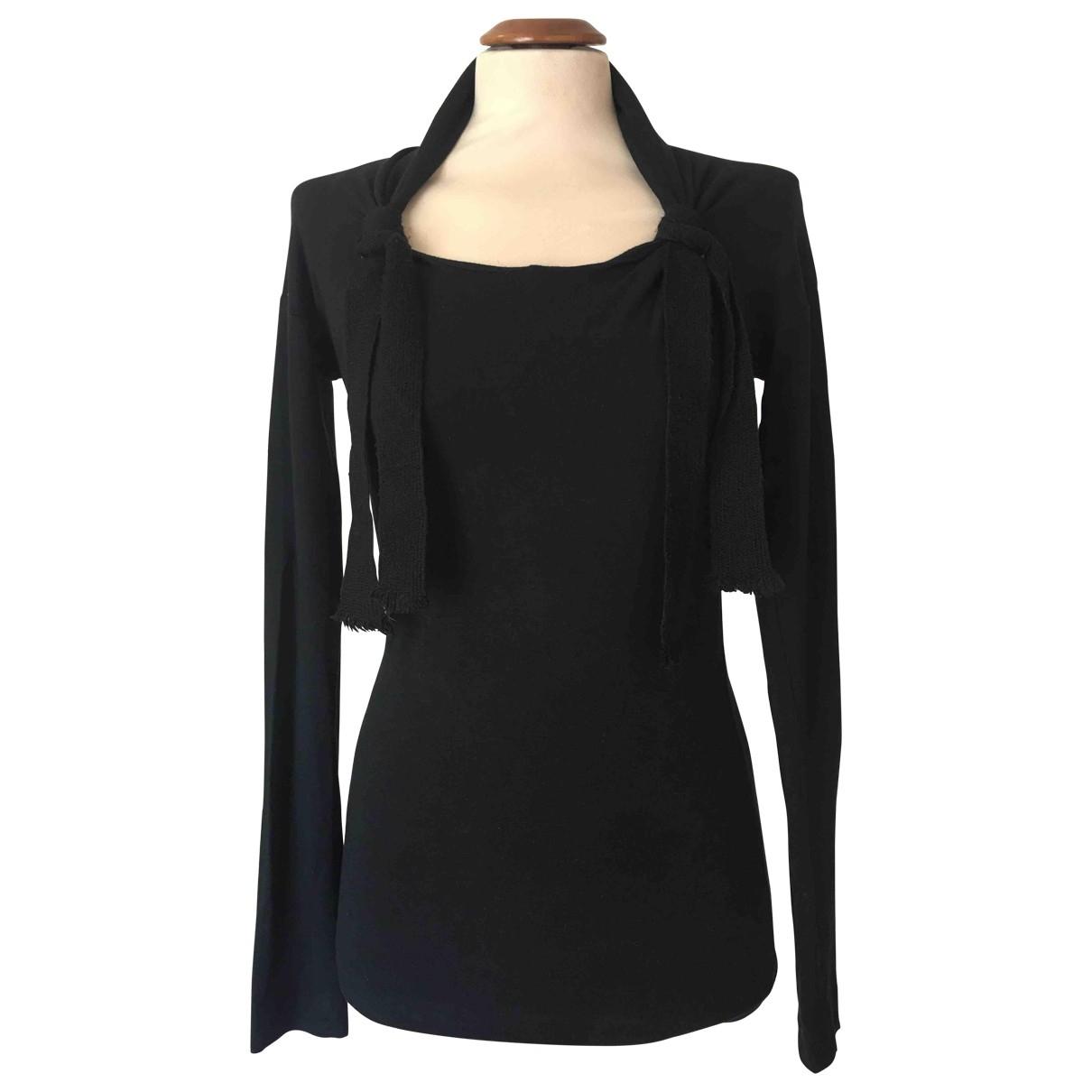 Romeo Gigli \N Black Wool  top for Women M International