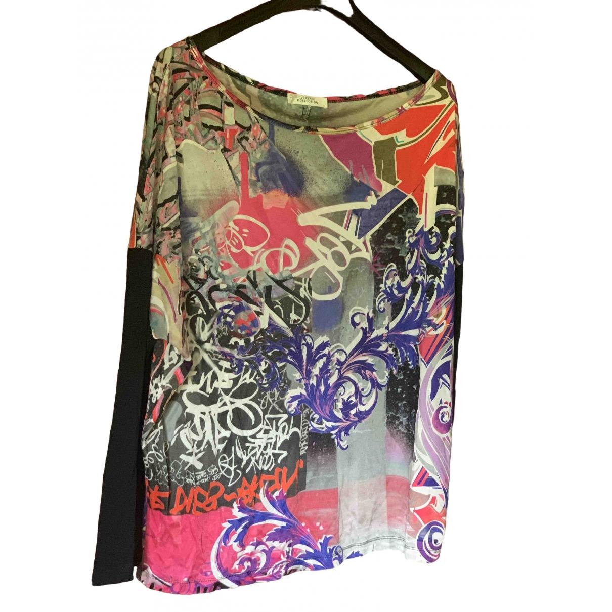 Gianni Versace \N Multicolour  top for Women 40 IT