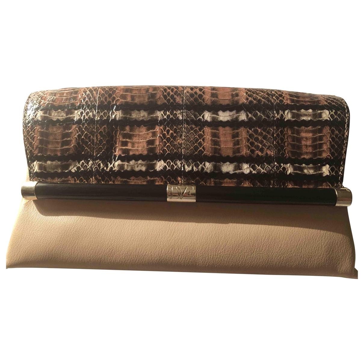 Diane Von Furstenberg \N Multicolour Leather Clutch bag for Women \N
