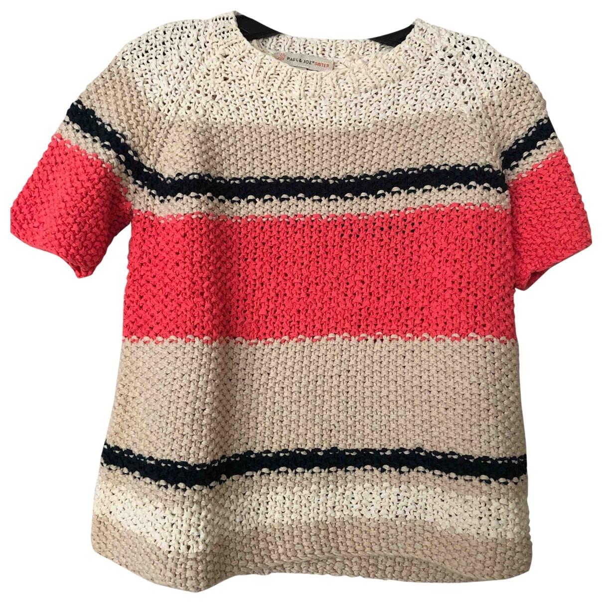 Paul & Joe Sister \N Multicolour Cotton Knitwear for Women 36 FR
