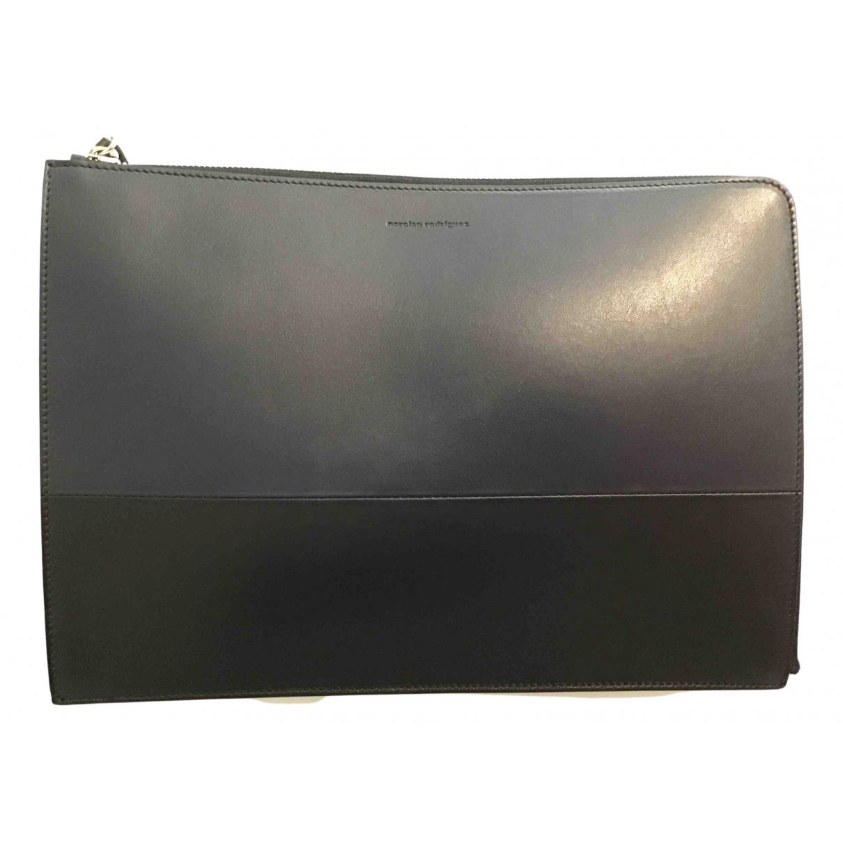 Narciso Rodriguez \N Blue Leather handbag for Women \N