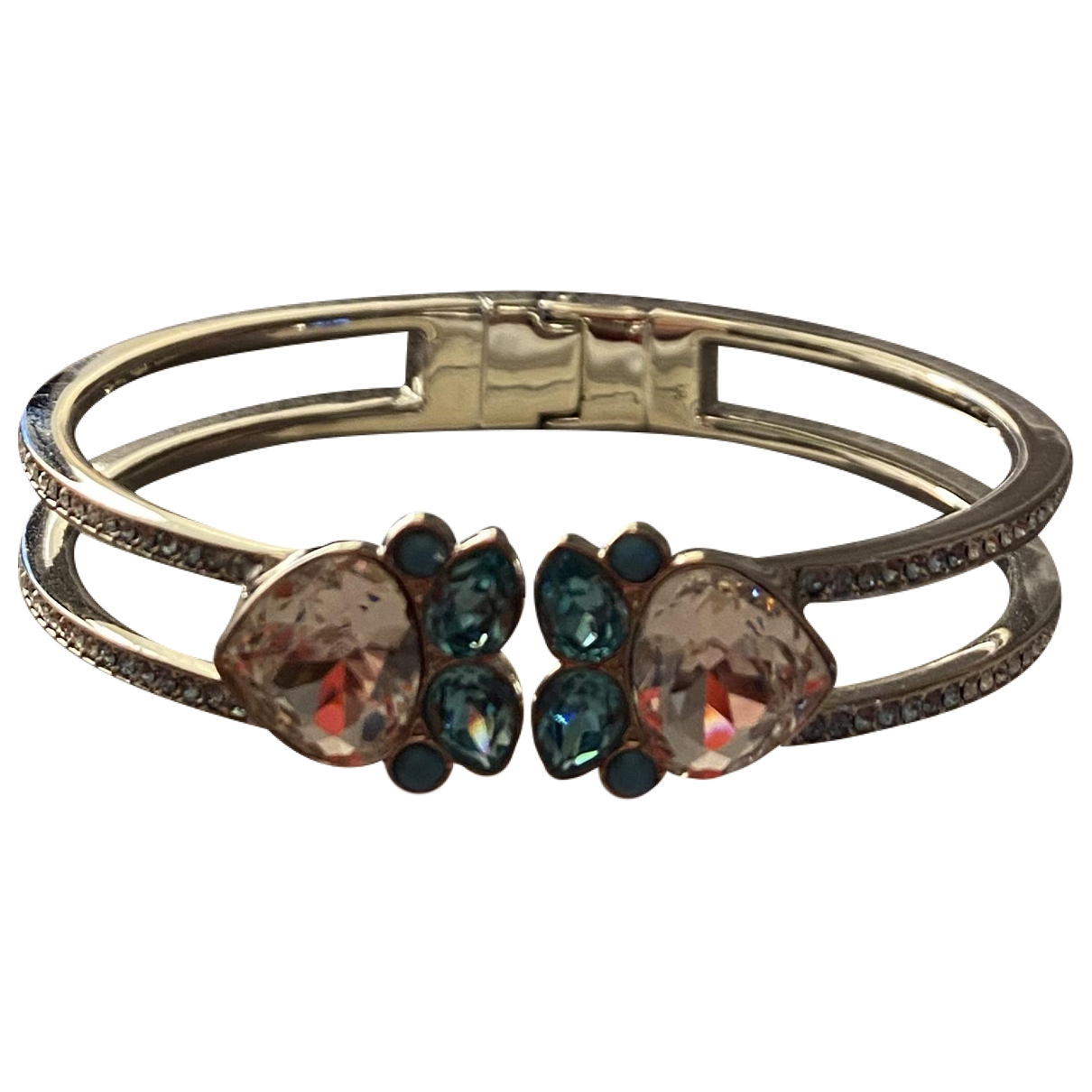 Swarovski \N Blue Metal bracelet for Women \N