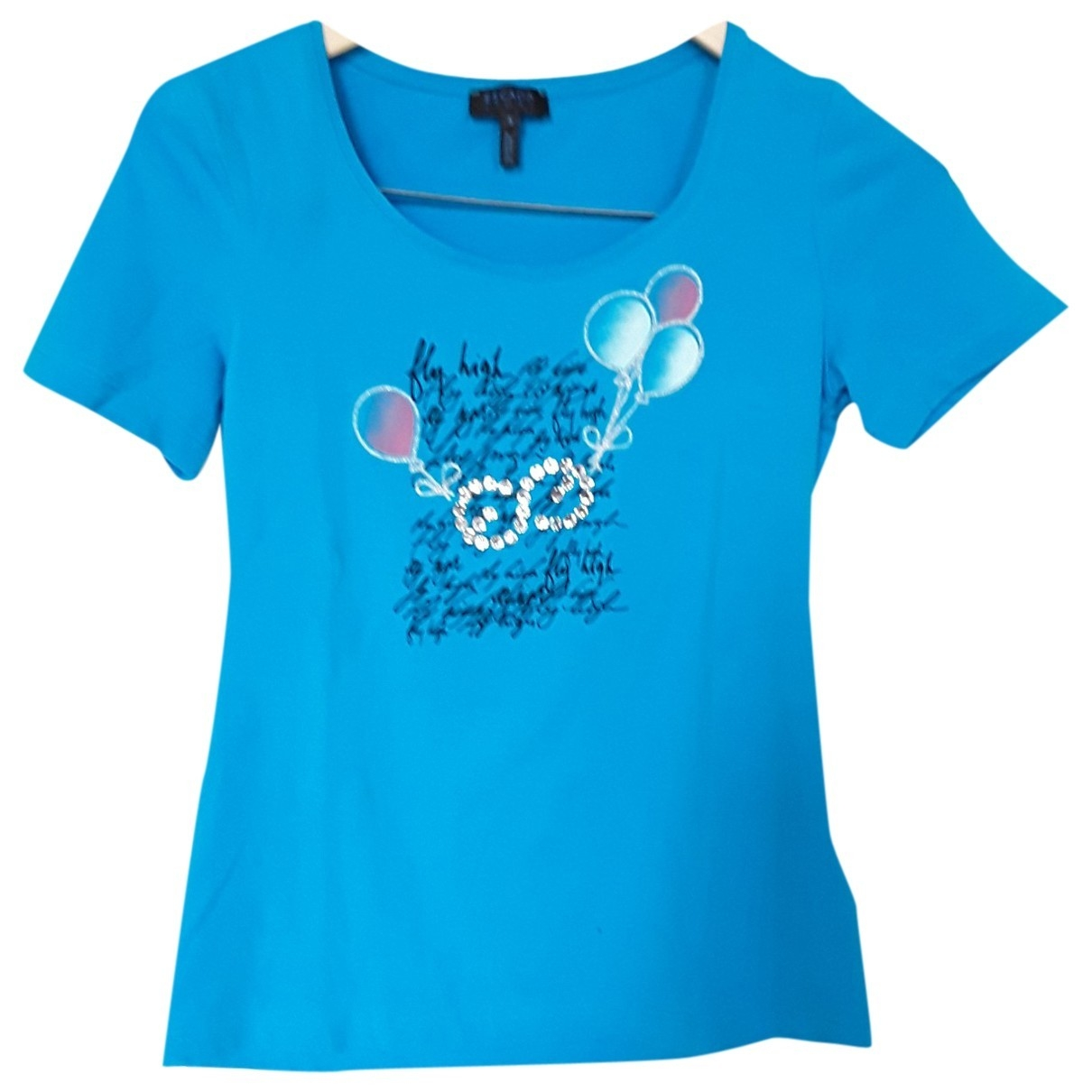 Escada \N Blue Cotton  top for Women S International