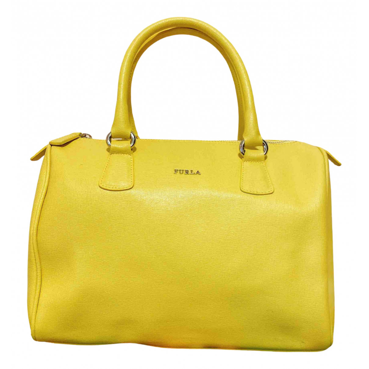 Furla \N Yellow Leather handbag for Women \N