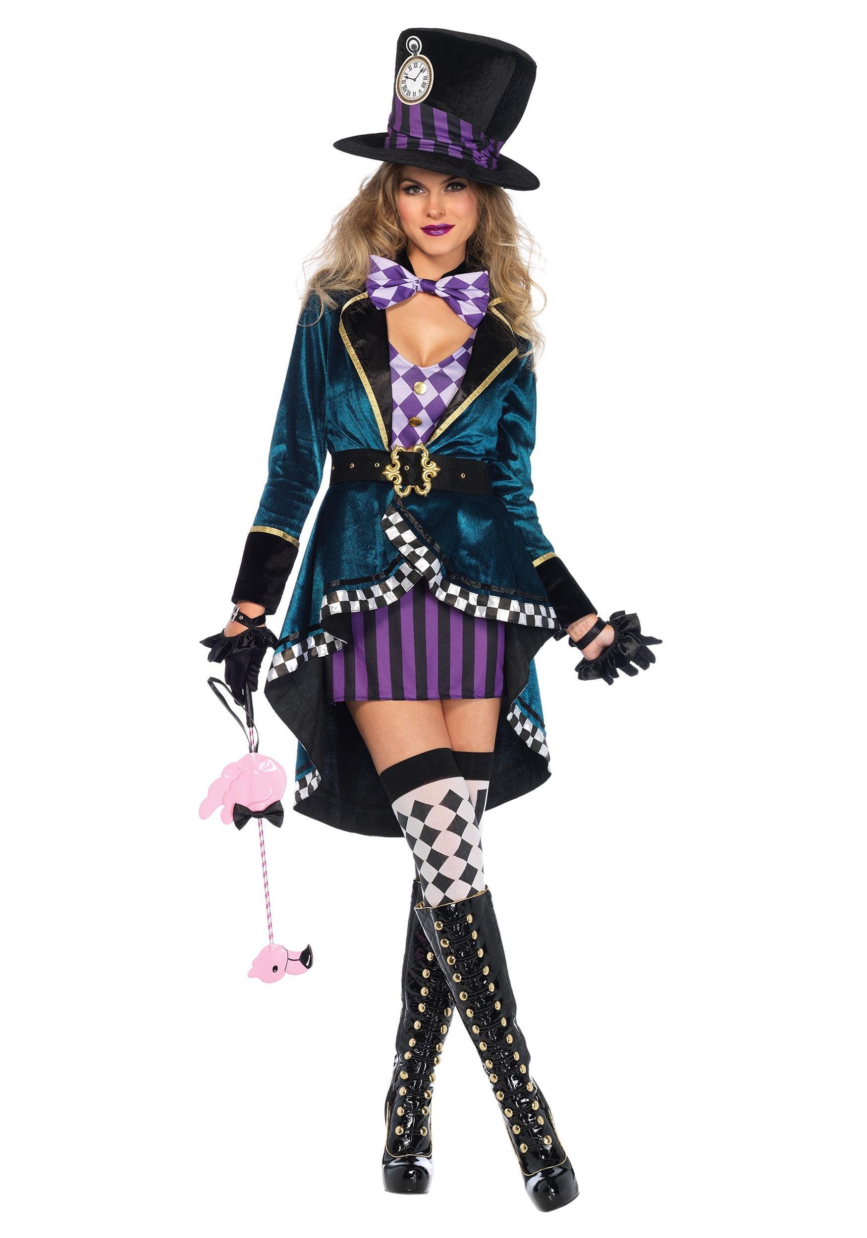Delightful Hatter Costume for Women
