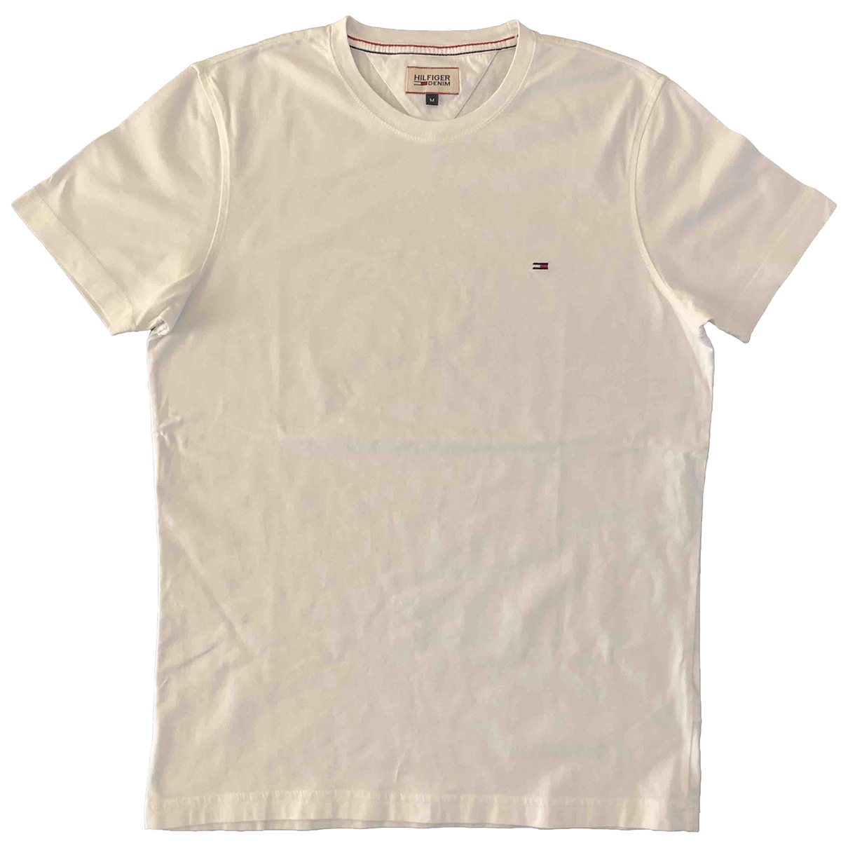 Tommy Hilfiger \N White Cotton T-shirts for Men M International