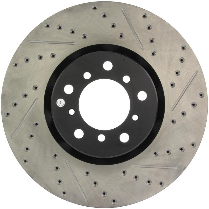 StopTech 127.34062L Sport Drilled/Slotted Brake Rotor; Front Left BMW M5 Front Left 2000-2003
