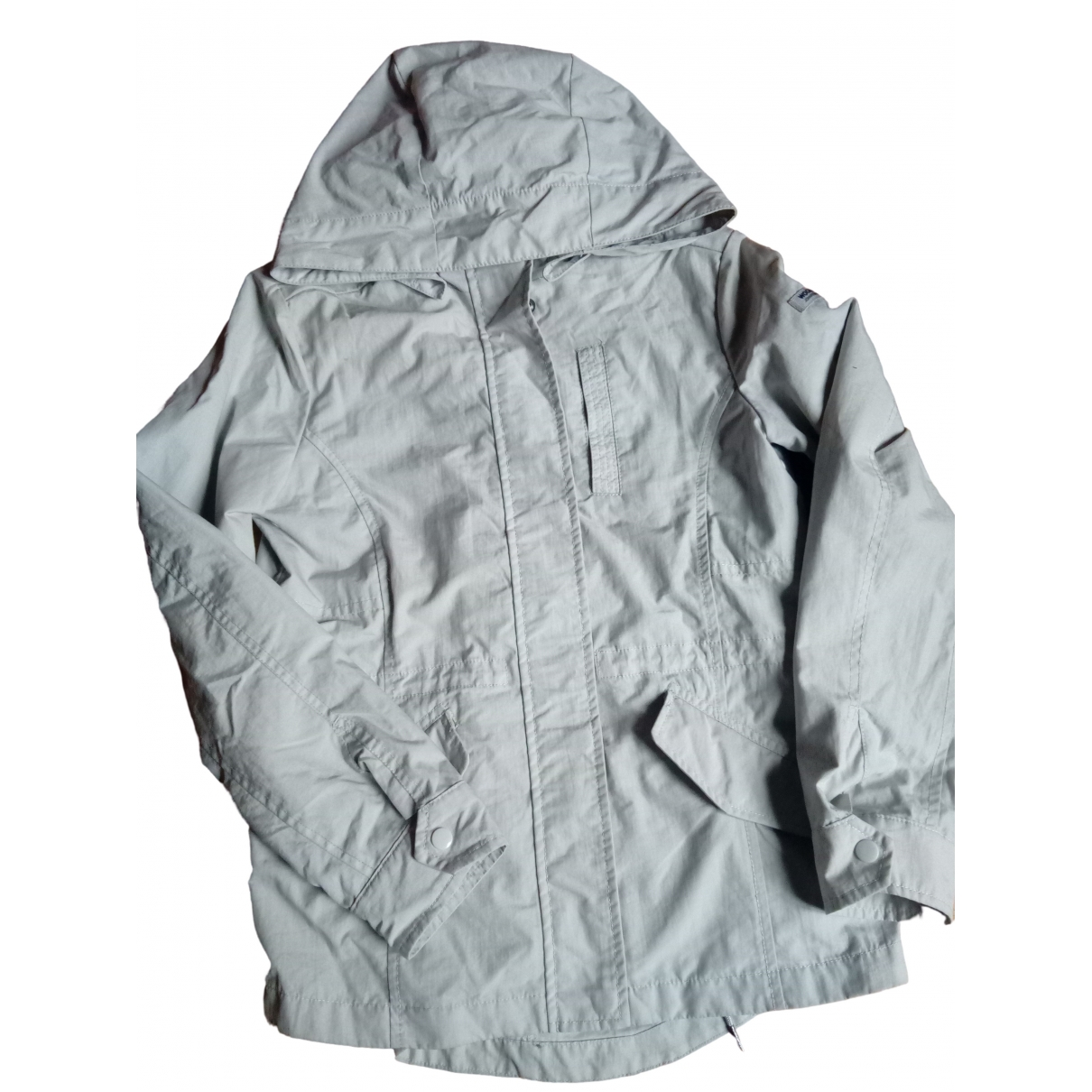 Woolrich \N Grey Cotton jacket & coat for Kids 12 years - XS FR