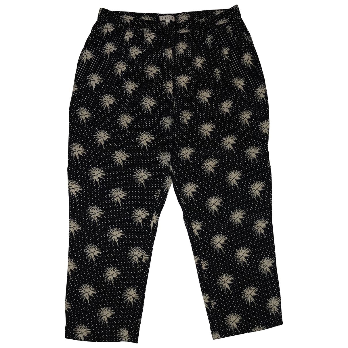 Claudie Pierlot \N Black Trousers for Women 38 FR