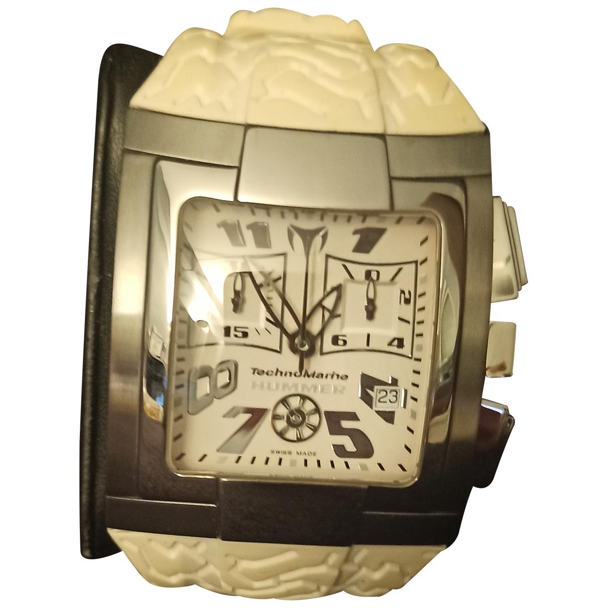 Technomarine, Genève \N White Steel watch for Men \N
