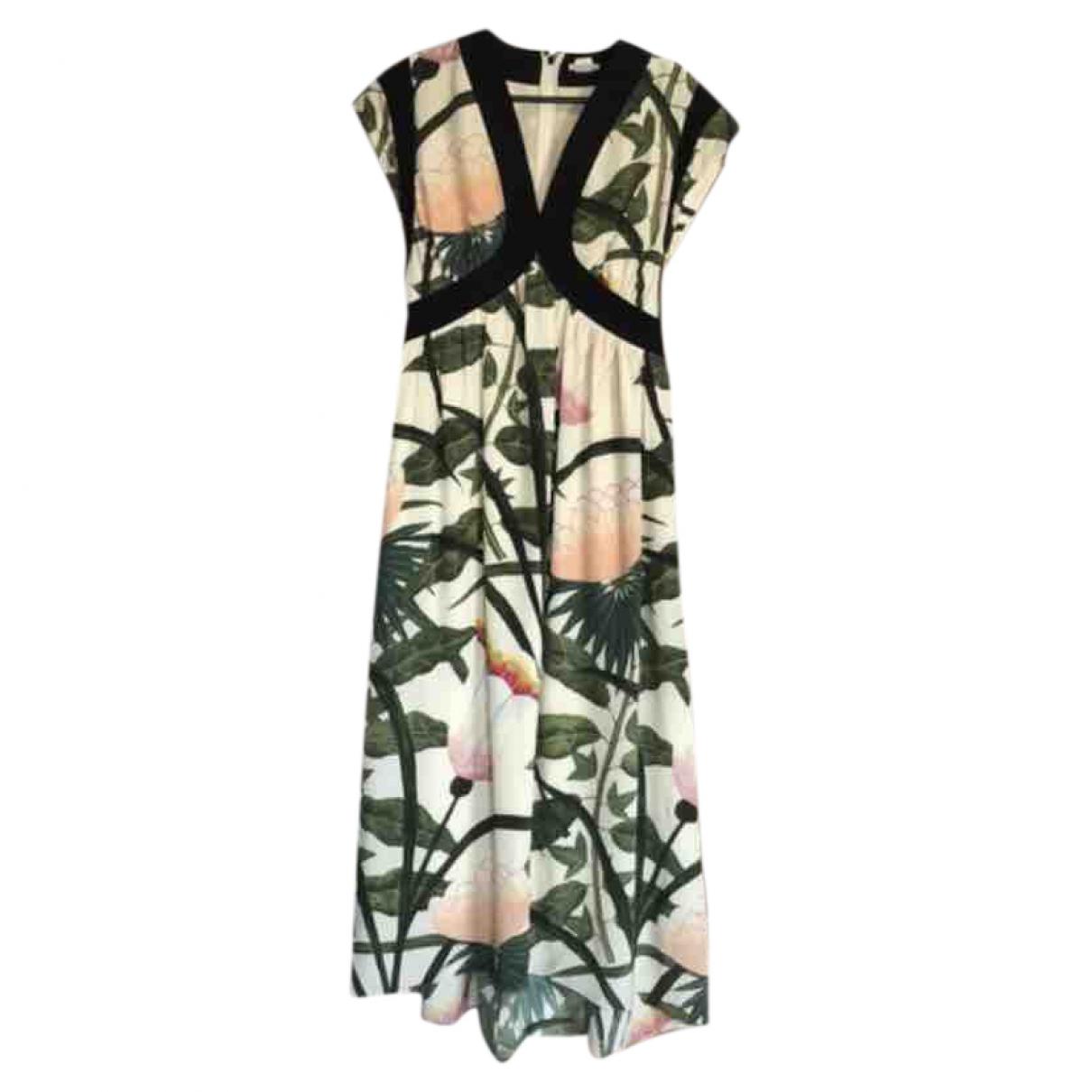 Hermès \N Multicolour Silk dress for Women 40 FR