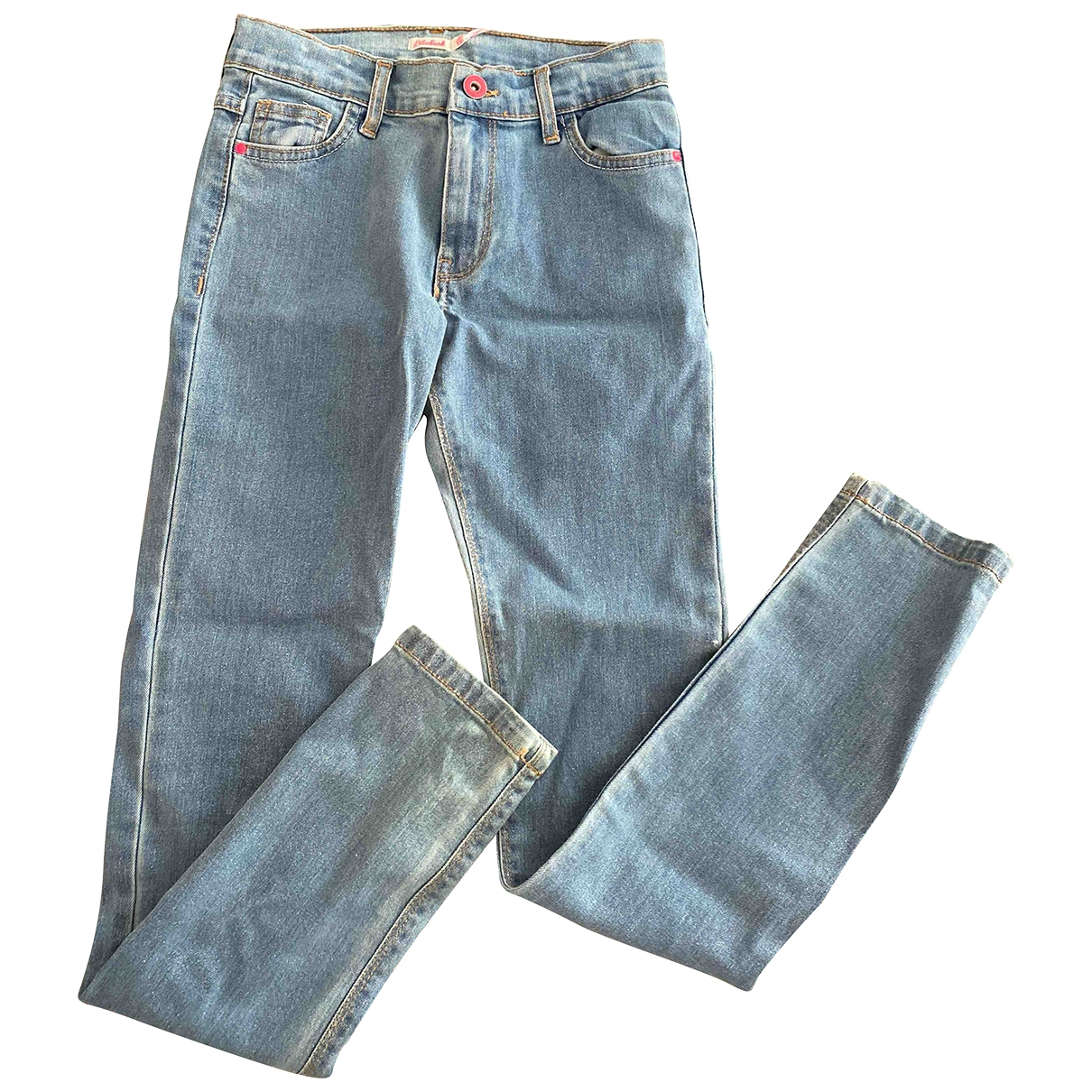 Billieblush \N Blue Denim - Jeans Trousers for Kids 12 years - XS FR