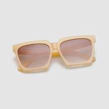 Men Square Frame Sunglasses