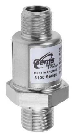 Gems Sensors Pressure Sensor for Various Media , 600bar Max Pressure Reading Analogue