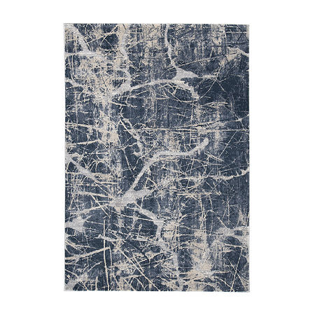 Signature Design by Ashley Tullis Rug, One Size , Blue