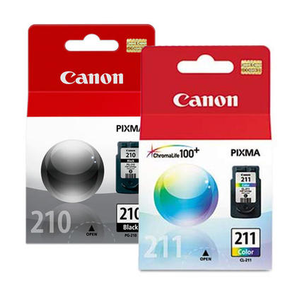 Canon PIXMA MX360 Original Ink Cartridges Black & Colour Combo, 2 pack - Standard Yield