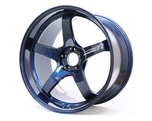 Advan GT Premium Wheel 20x9 5x112 40mm Racing Titanium Blue