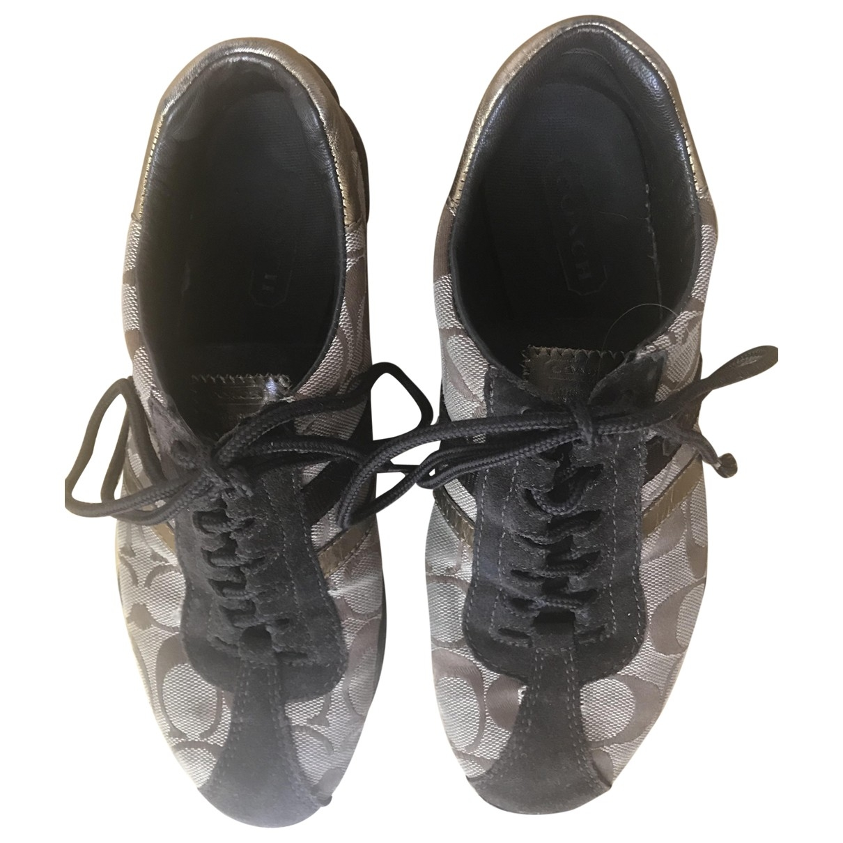 Coach \N Brown Suede Trainers for Women 6 US