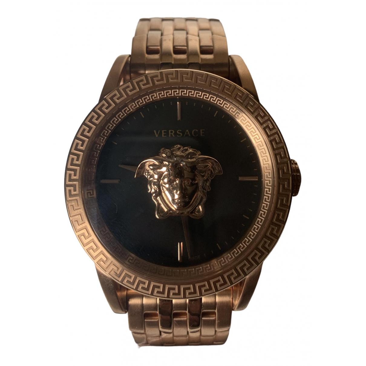 Versace \N Pink Steel watch for Women \N