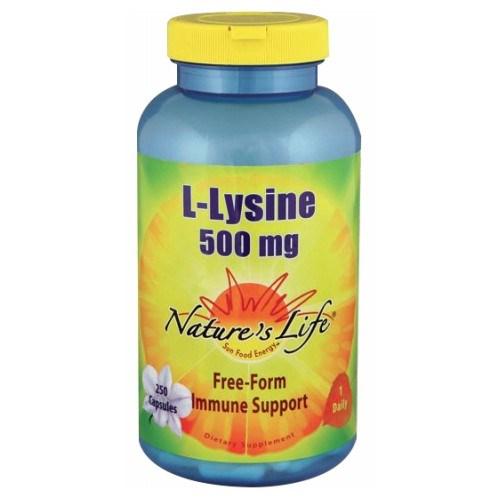 L-Lysine 250 caps by Nature's Life