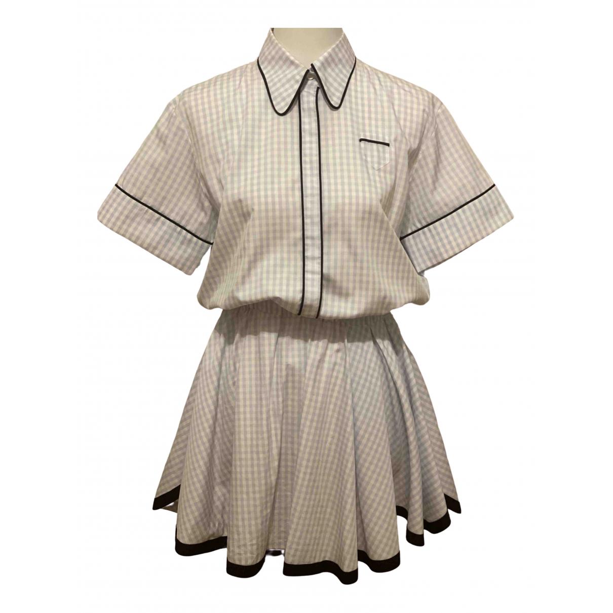 N°21 \N Blue Cotton dress for Women 38 IT