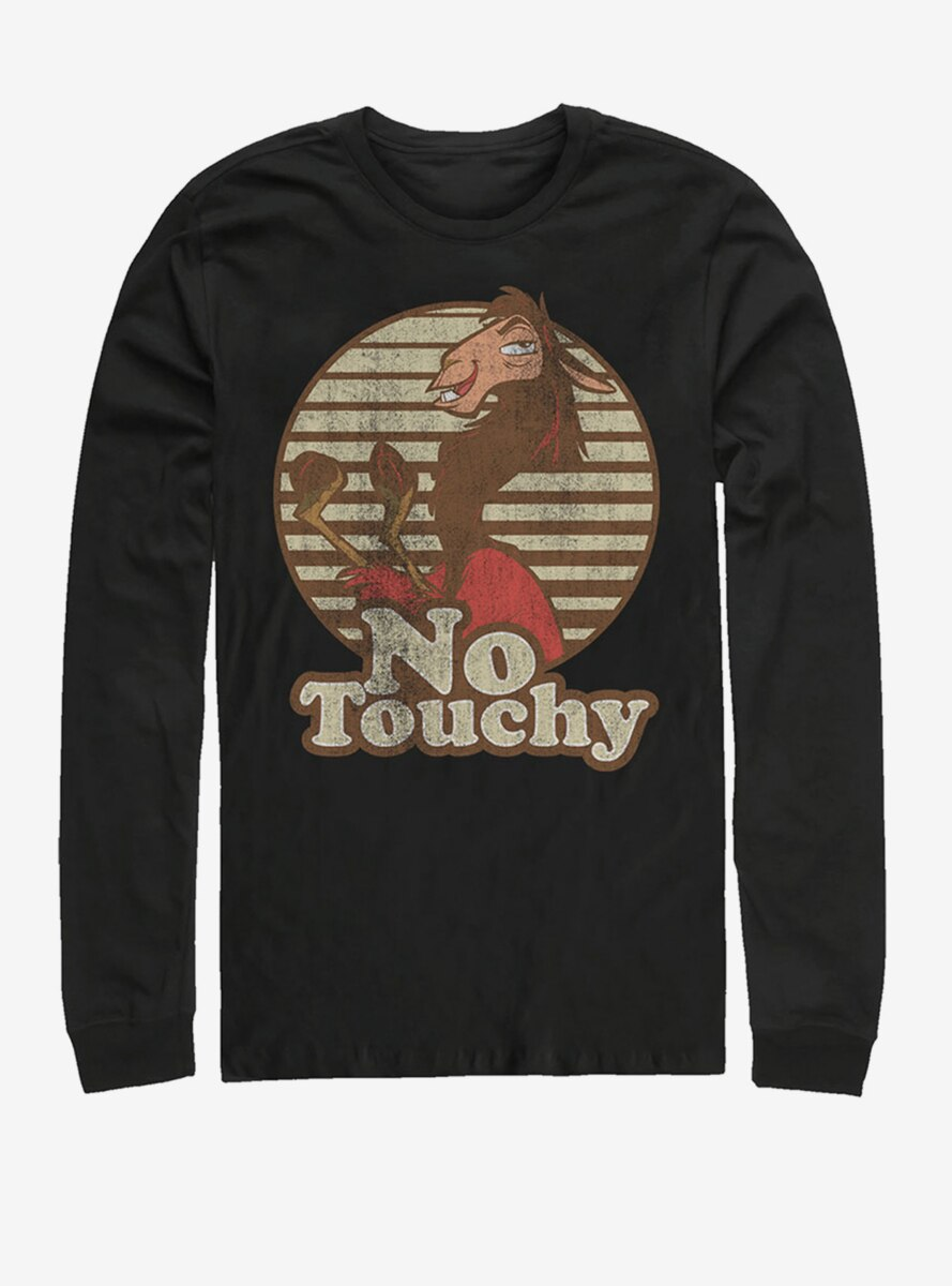 Disney The Emperor's New Groove No Touchy Long-Sleeve T-Shirt